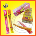 GUMMY SOUR LONG CADNY STICK WITH SOUR POWDER FILLING