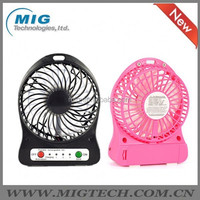 5v usb powered cooling fan Portable Rechargeable USB Desk Pocket, Handheld Travel Blower Air Cooler, mini USB fan