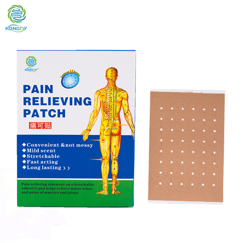 China supplier OEM pain relieving patch better than pain relief cream