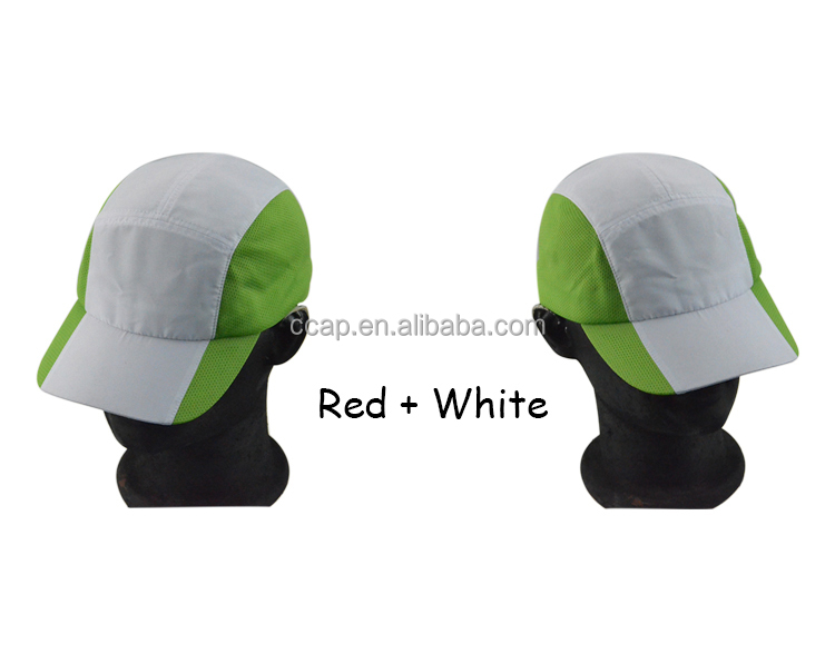 Custom Promotional 5 Panel Cap Sport Cap Running Cap
