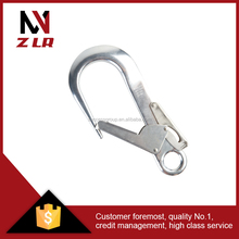 Stainless forged hook and snap hook clip swivel