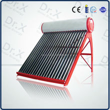 200 liter high pressured heat pipe solar water heater ,green energy solar products