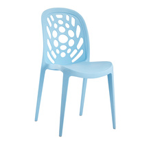 Home Furniture Baroque Style Plastic Cafeteria Pro Garden Chairs
