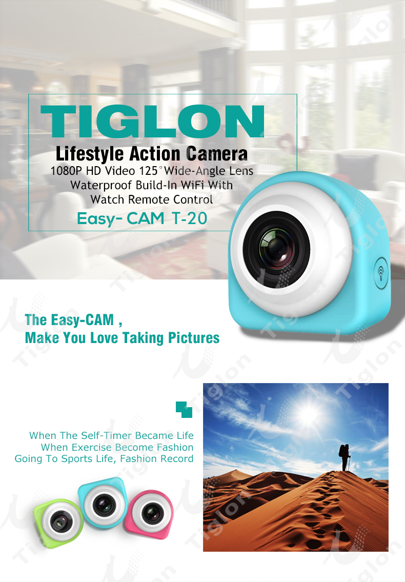 The best action camera with wifi remote contol