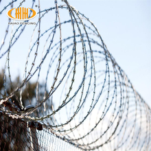 Hot sale high quality razor barbed wire/ military concertina wire