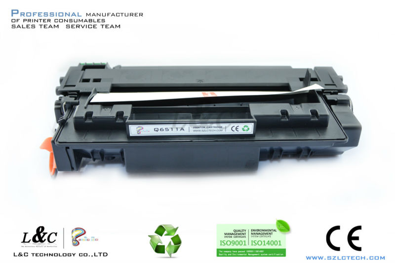 Chinese toner Q6511A laser Toner Cartridge for HP Laserjet 2400/2420/2410/2430