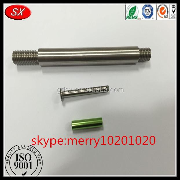 Customized aluminum end cap rod