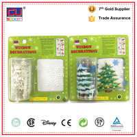 Newest christmas home decoration roll blank label sticker waterproof