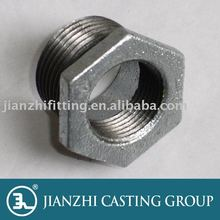 Threaded Hot-Dipped Galvanized Malleable iron Pipe fitting-241 Bushing