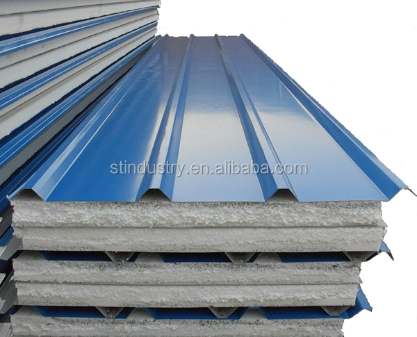 cheap prefab house EPS sandwich wall panel for sale