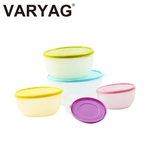 Hot sale eco-friendly stackable plastic storage food container set
