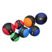 Double color leather medicine ball /medicine slam ball