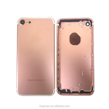 New Full Back Battery Cover Middle Frame Metal Back Housing for iPhone 7 battery housing