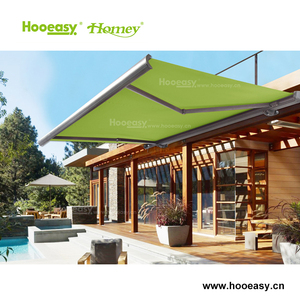 Homey make to order good sell outside motorized roof awning
