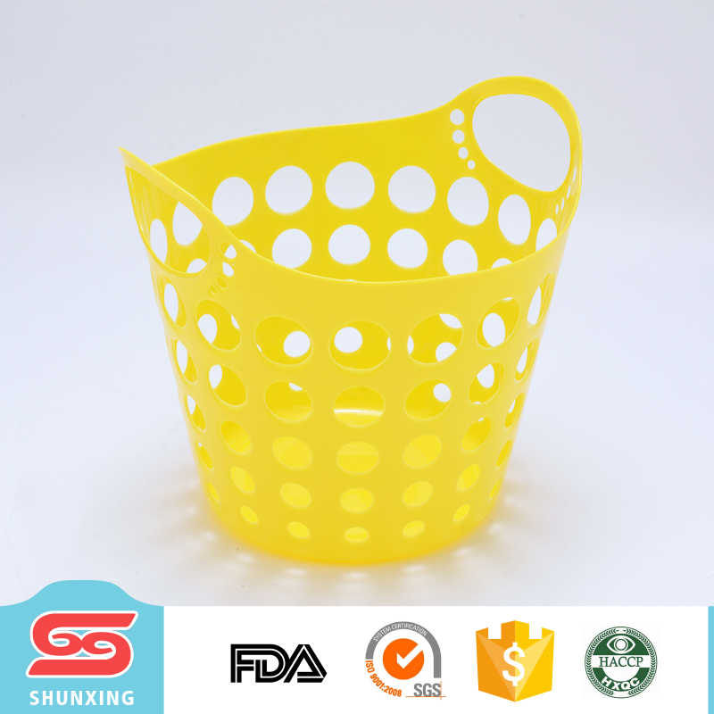 New ideas durable handle colored plastic laundry baskets for wholesale