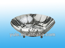 Stainless Steel Steamer Plate/Fruit Tray