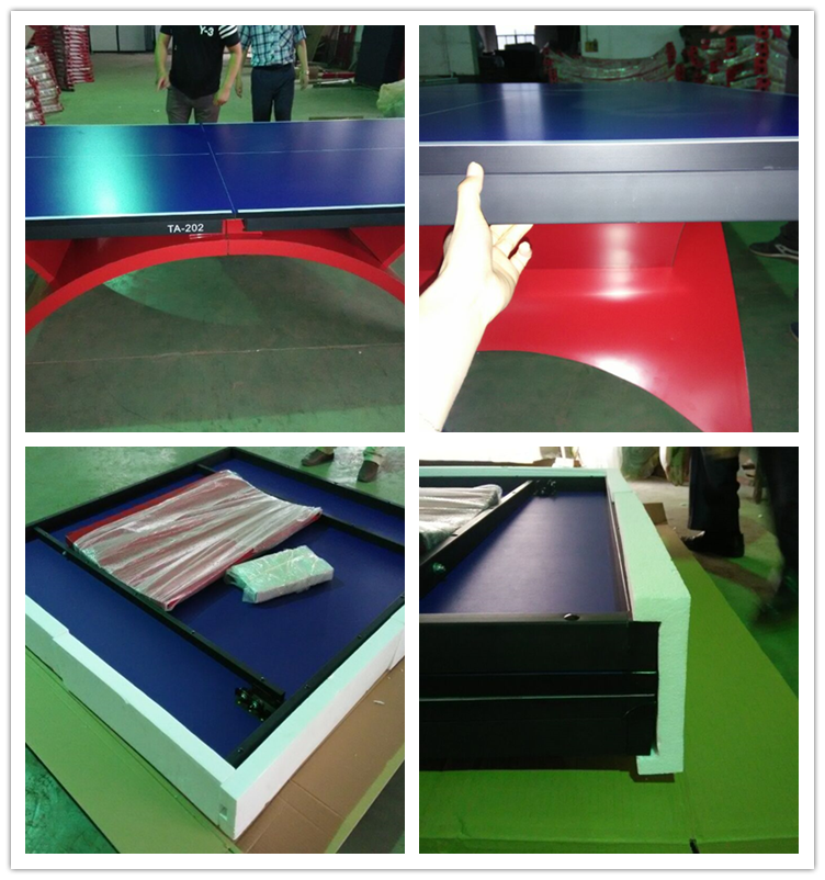 Famous Brand Big Rainbow Legs Table Tennis Table 25mm
