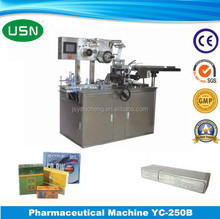 Automatic chocolate fold wrapping machine