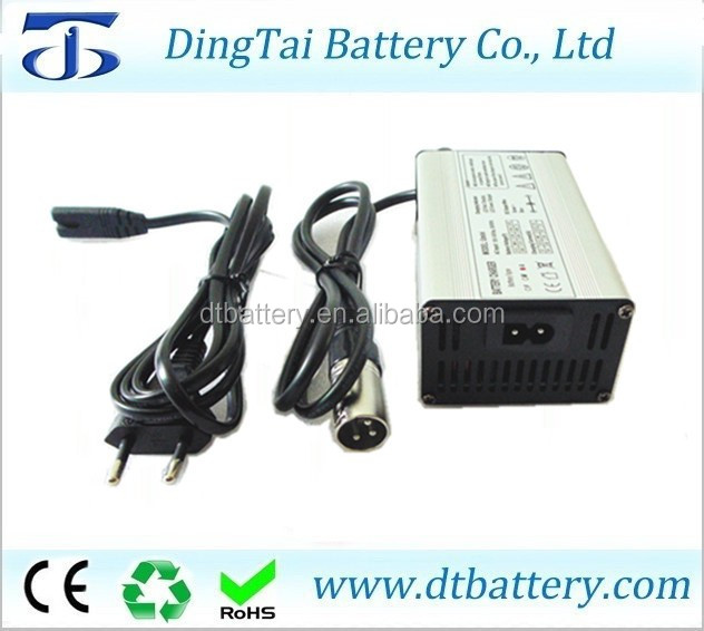 42v 4a li-ion ebike battery charger for 36v lithium electric bike battery