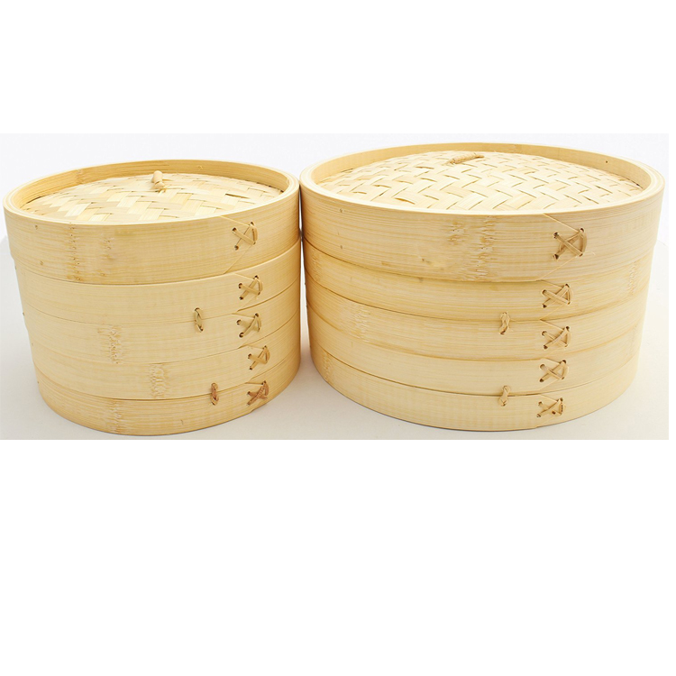 Hot sale commercial bamboo rice roll steamer for restaurant