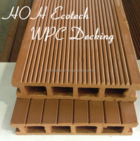 recycle eco wood composite WPC anti-skidding pool deck material