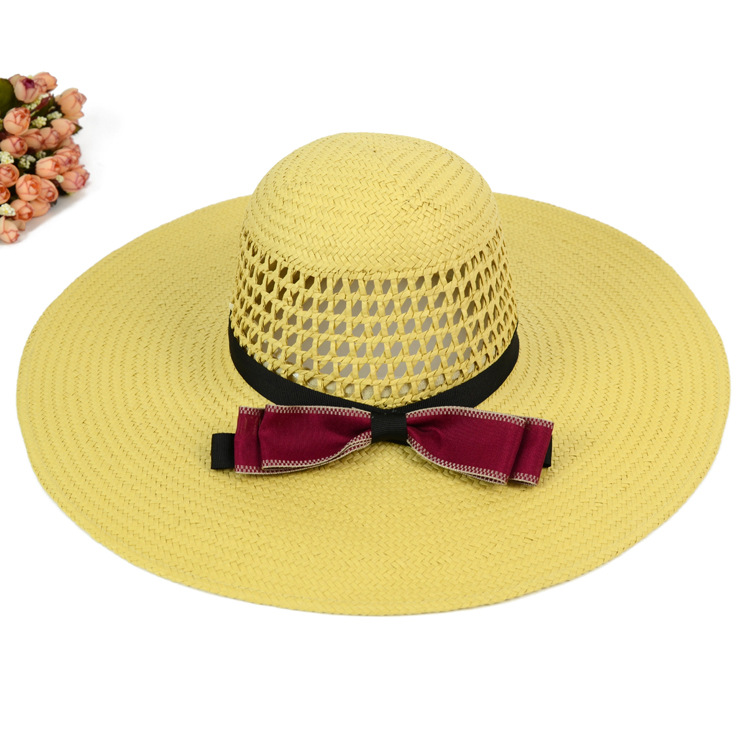 Chinese Products Wholesale Cheap Wholesale Straw Hats Ladies Floppy Hats