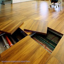 china wood core raised floor system 600*600*40 mm