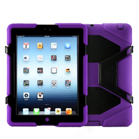 Hybird more fashional sold in all over world mini silicon case for ipad 234