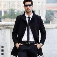 2016 new european style jackets for men 100% wool jacket men coats handsome windstop jacket wholesale