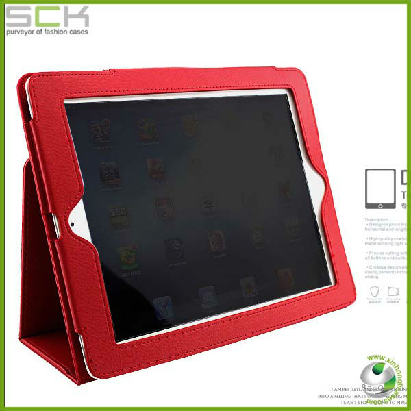 for ipad leather case,for ipad 4 case