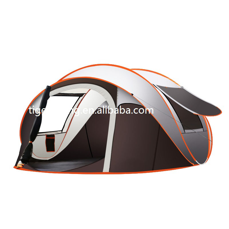 3-4 people outdoor family camping tent pop up camping tent