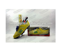 Factory price!!2014 world cup Soccer Shoe pencil case