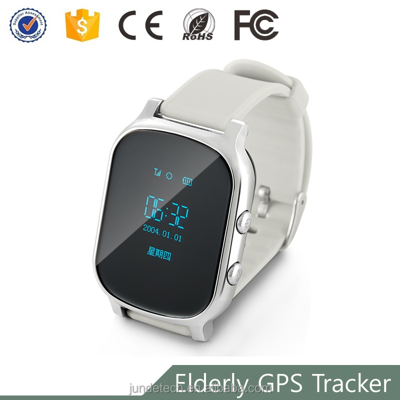 Fashion high quality smart wrist watch gps tracker anti jammer with GPS WIFI LBS position