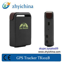 cell phone gps tracking software TK102B with with Wall Charger