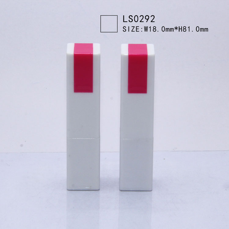 LS0292 Square slim lipstick empty lipstick <strong>case</strong> wholesale