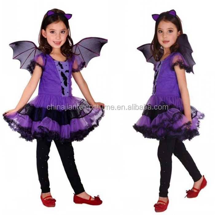 Wings Halloween Costume Fancy Dress For Kids With High Quality