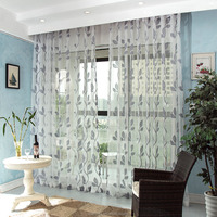 Jacquard sheer window modern curtains for hotels living room,Latest popular cheap good quality hotel and home sheer curtain
