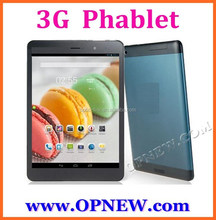 7.9 inch 3G Phone Tablet WCDMA 850/2100 GSM 4 bands phablet IPS touch screen Bluetooth phone call dual sim
