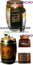 Thermoelectric OAK wooden wine barrel cooler antique wooden wine cooler to keep wines