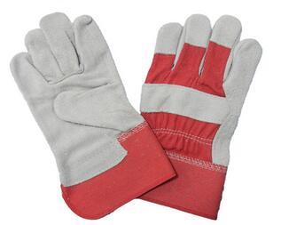 Cheap cow split leather welding gloves safety working gloves/leather gloves for welding
