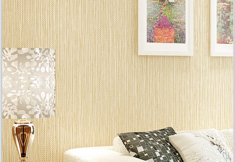 Korean style nonwoven 3d wall wallpaper with cheap price