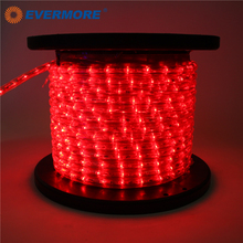 EVERMORE Red Color Programmable Decorative Serial LED Neon Rope Light
