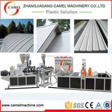 Plastic PVC Corrugated/Wave Roofing Tile/Sheet/Plate Production Line