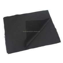 Record Cleaning Absorbent Cloth,Cheap Logo Printed Cleaning Velvet Cloth Black