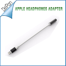 2016 distributor wanted 3.5mm audio splitter audio data cable adapter connector for iphone7