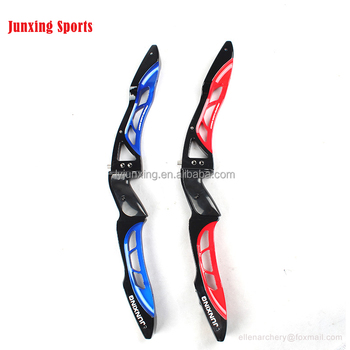 Junxing aluminum take down recurve bow ILF riser for shooting