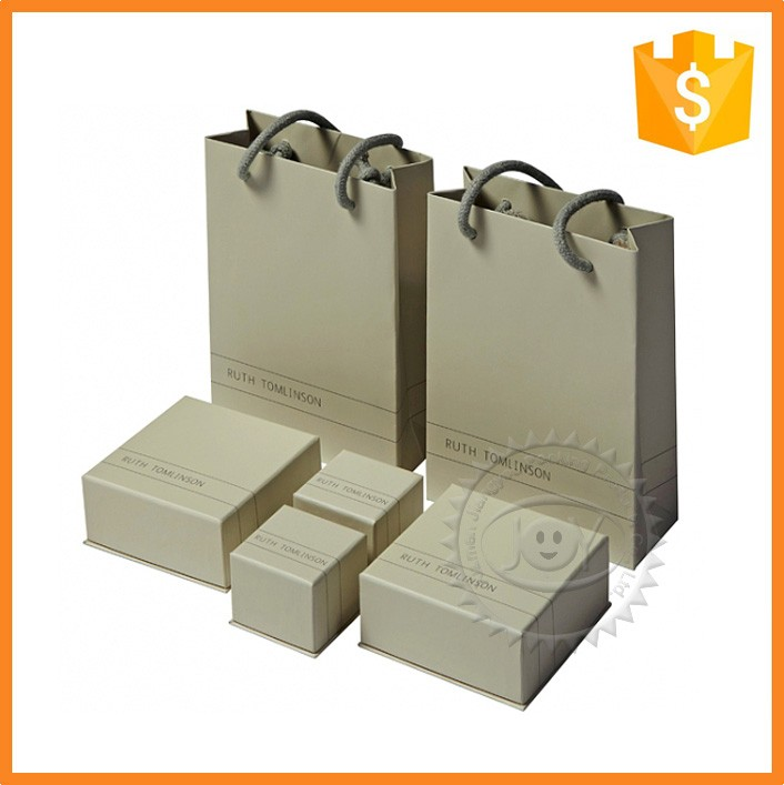 2016 packaging jewelry gift paper bag with handle