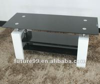 living room furniture glass and stainless TV stand