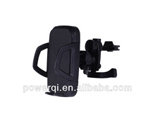Powerqi newest wireless car charger for qi mobile Sumsung Galaxy Note3,S4,S3,Note2