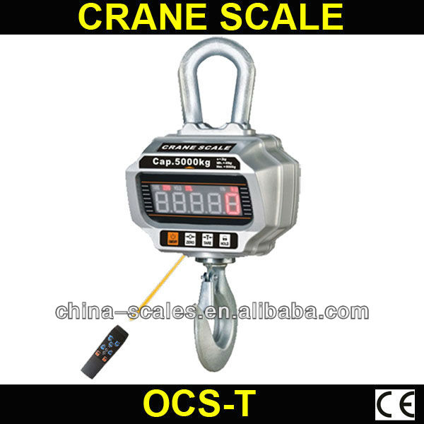 Industrial Weighing OCS-T 1000kg/0.5kg crane claw machine for sale